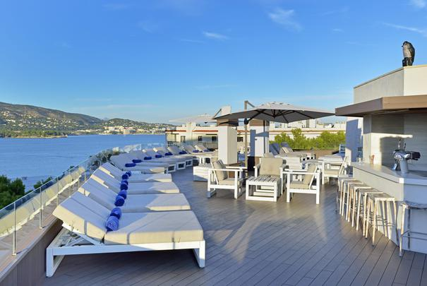 Terrasse Chill Out (Edifice Suites) Alua Hawaii Mallorca & Suites Palmanova, Mallorca